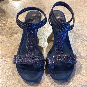 New York Transit Navy Shoes Size 9